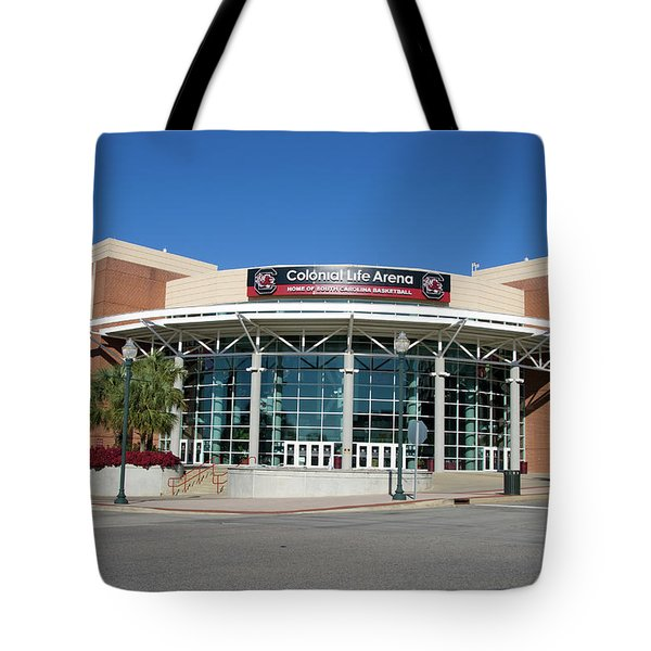 Tote Bag featuring the photograph Colonial Life Arena by Joseph C Hinson Photography
