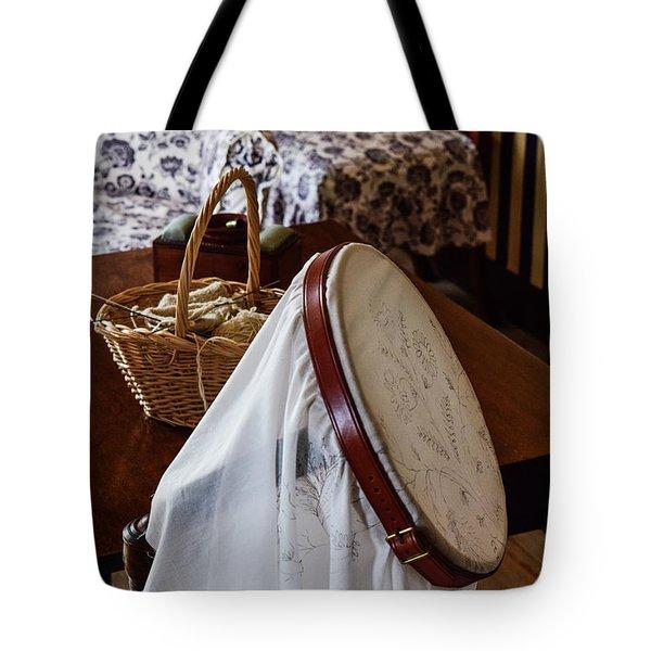 Colonial Needlework Tote Bag