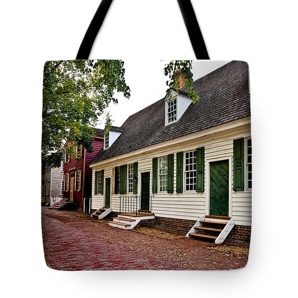 Colonial Times Tote Bag by Christopher Holmes