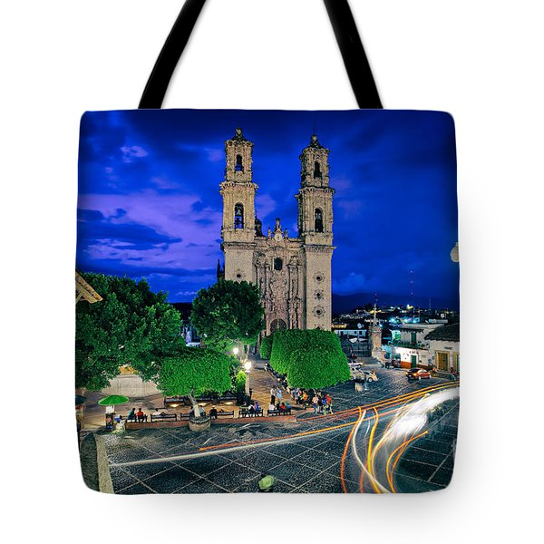 Colonial Town Of Taxco, Mexico Tote Bag