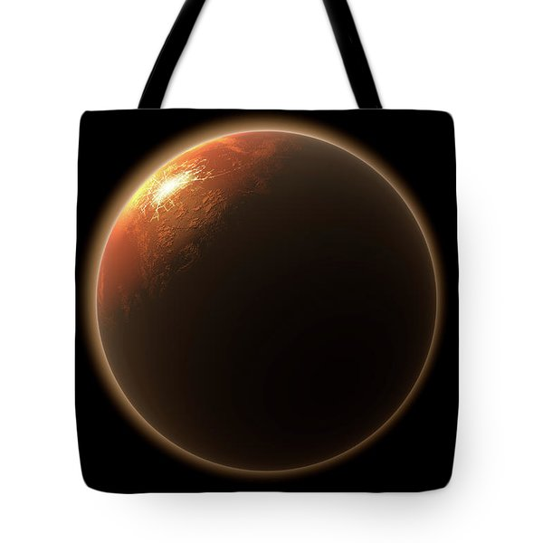 Colonization Of Mars Tote Bag