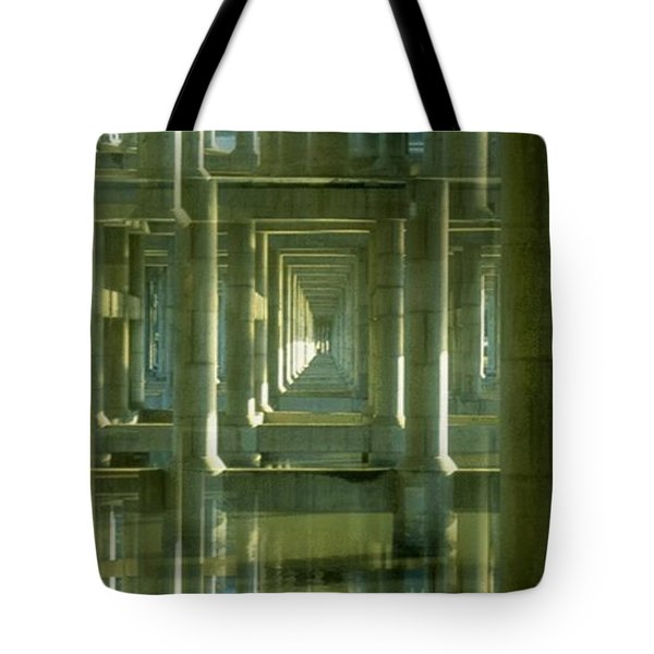 Colonnade Park Seattle Tote Bag by Tim Allen