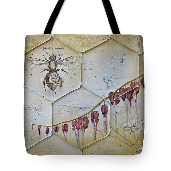 Colony Collapse Disorder Tote Bag by K Llamas