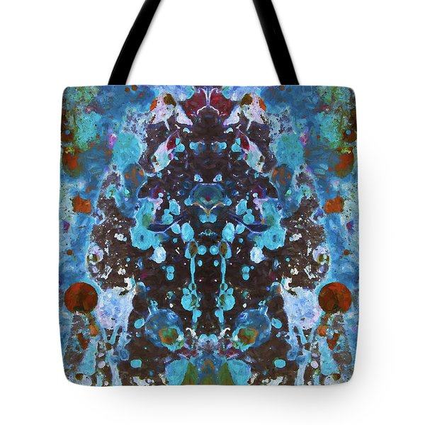 Color Abstraction Iv Tote Bag