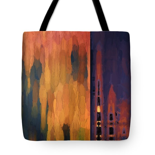 Color Abstraction Liv Tote Bag