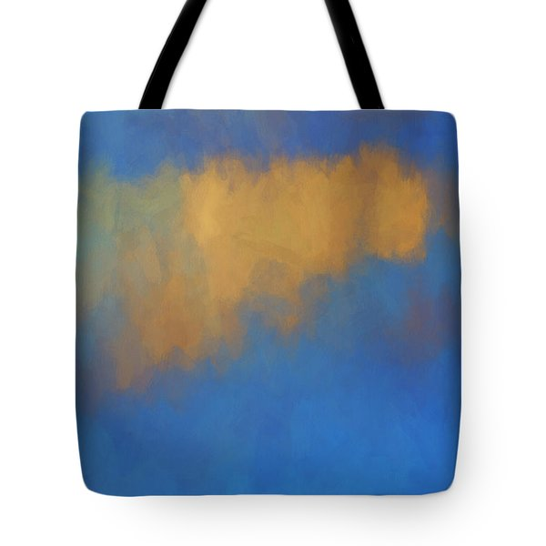Tote Bag featuring the digital art Color Abstraction Lvi by David Gordon