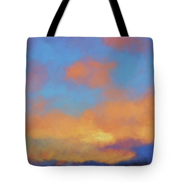 Tote Bag featuring the digital art Color Abstraction Lvii by David Gordon