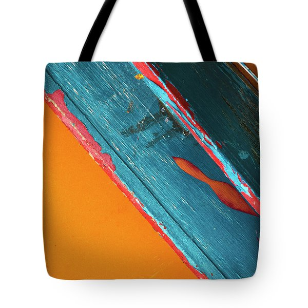 Tote Bag featuring the photograph Color Abstraction Lxii Sq by David Gordon