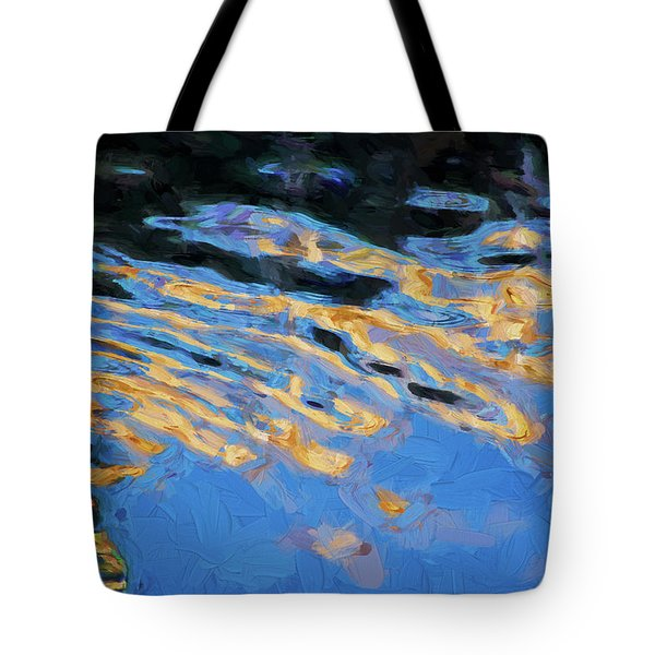 Tote Bag featuring the photograph Color Abstraction Lxiv by David Gordon
