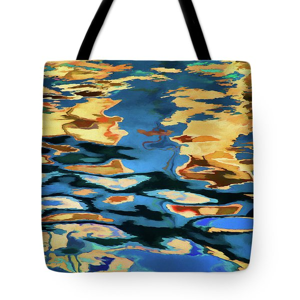Color Abstraction Lxix Tote Bag