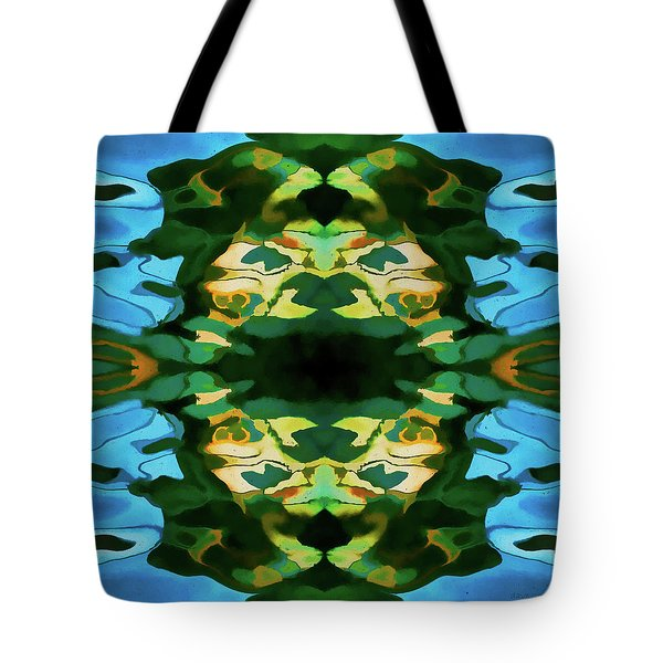 Tote Bag featuring the photograph Color Abstraction Lxv by David Gordon