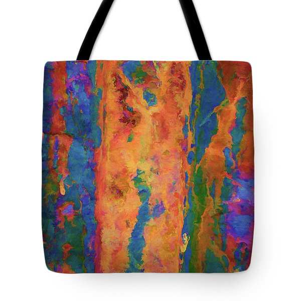 Tote Bag featuring the photograph Color Abstraction Lxvi by David Gordon