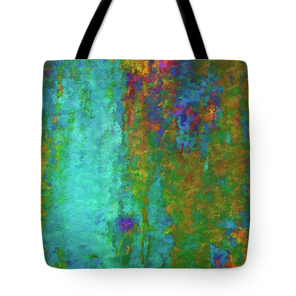 Tote Bag featuring the photograph Color Abstraction Lxvii by David Gordon