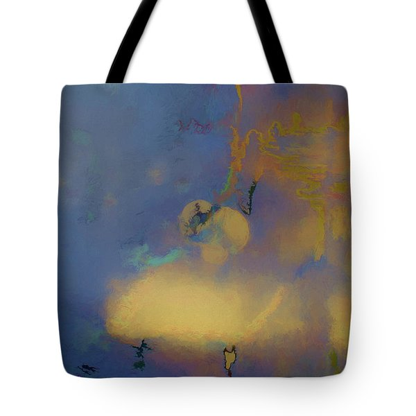 Color Abstraction Lxviii Tote Bag