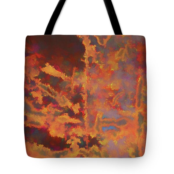 Color Abstraction Lxxi Tote Bag