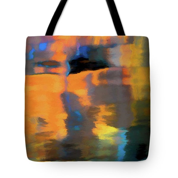 Tote Bag featuring the photograph Color Abstraction Lxxii by David Gordon