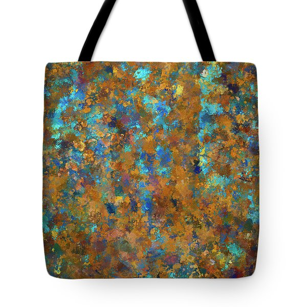 Color Abstraction Lxxiv Tote Bag