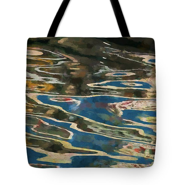 Color Abstraction Lxxv Tote Bag