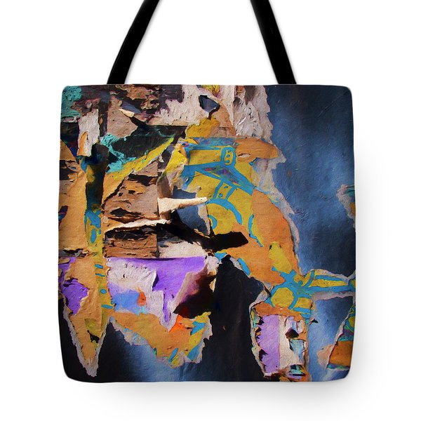 Tote Bag featuring the photograph Color Abstraction Lxxvii by David Gordon