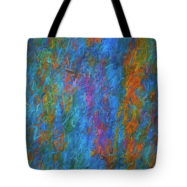 Color Abstraction Xiv Tote Bag