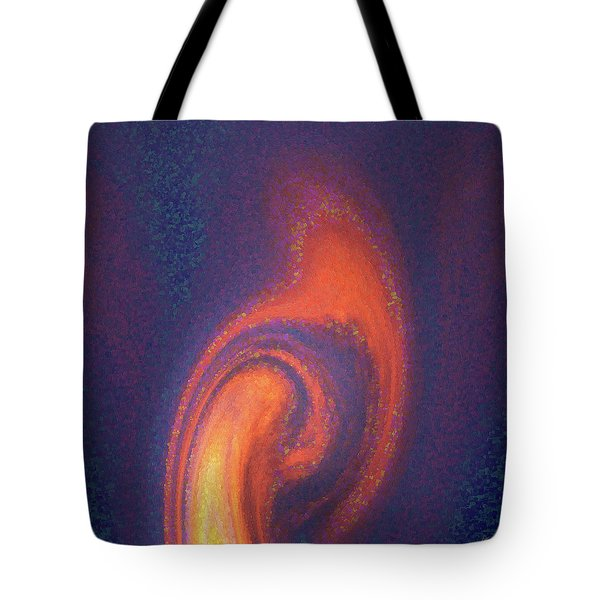 Tote Bag featuring the digital art Color Abstraction Xlii by David Gordon
