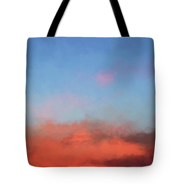 Tote Bag featuring the photograph Color Abstraction Xlvii - Sunset by David Gordon