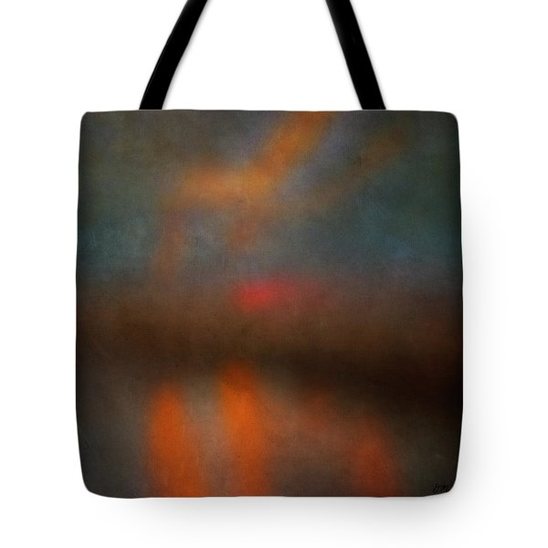 Color Abstraction Xxv Tote Bag