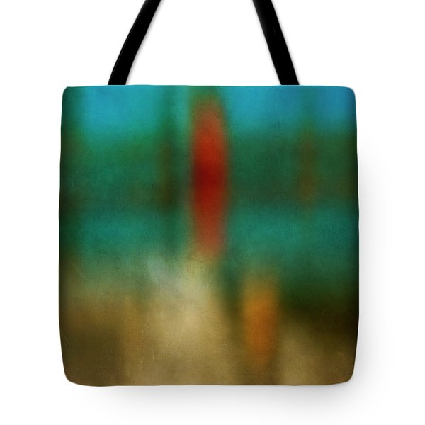 Color Abstraction Xxvi Tote Bag