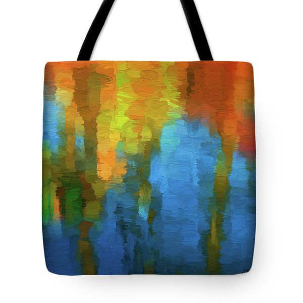 Color Abstraction Xxxi Tote Bag