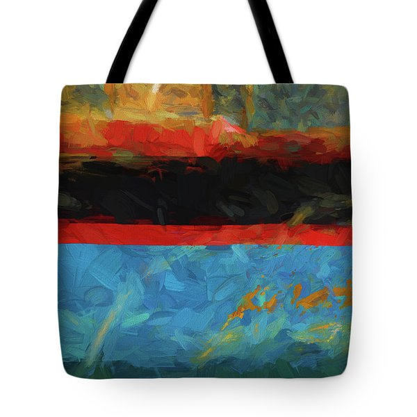 Tote Bag featuring the photograph Color Abstraction Xxxix by David Gordon