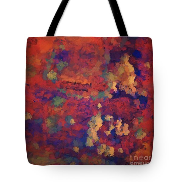 Color Abstraction Xxxv Tote Bag