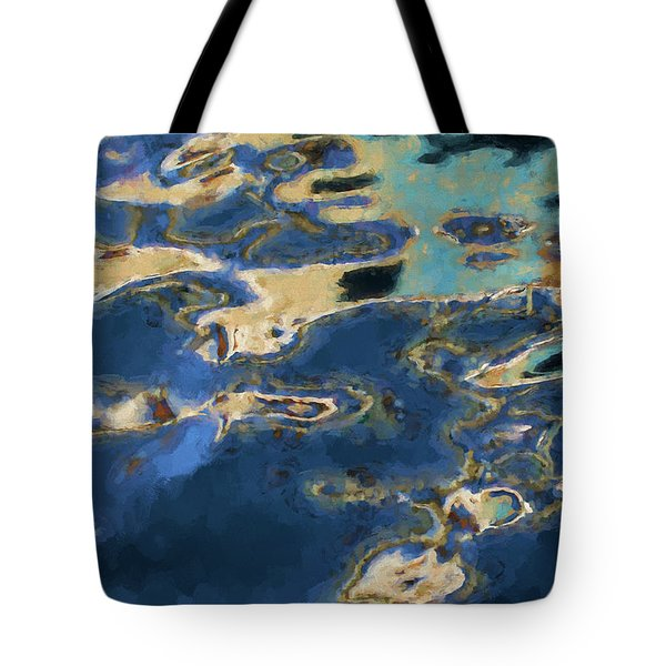 Color Abstraction Xxxvii - Painterly Tote Bag