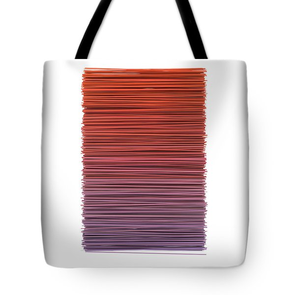 Color And Lines 3 Tote Bag