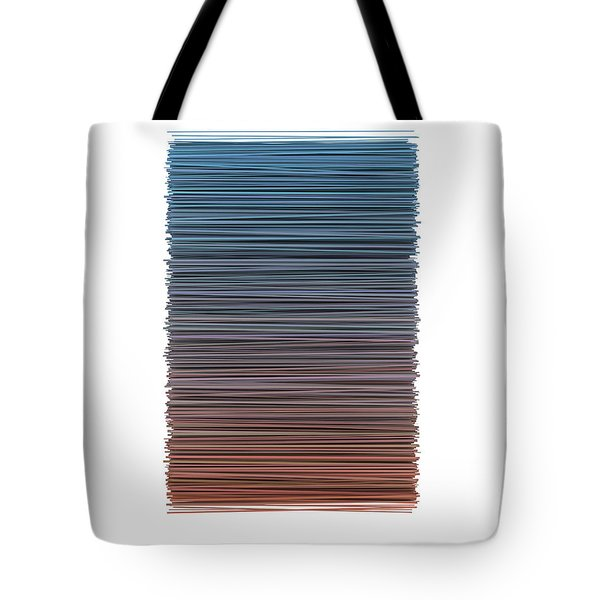Color And Lines 4 Tote Bag