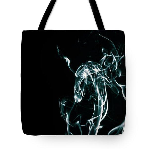 Color And Smoke Iv Tote Bag