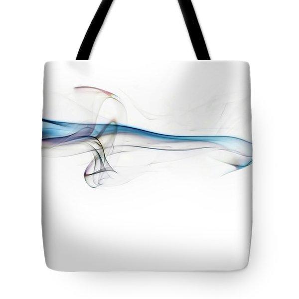 Color And Smoke V Tote Bag