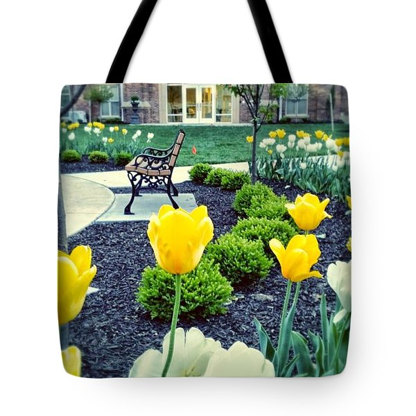 Color At College Tote Bag by Dustin Soph