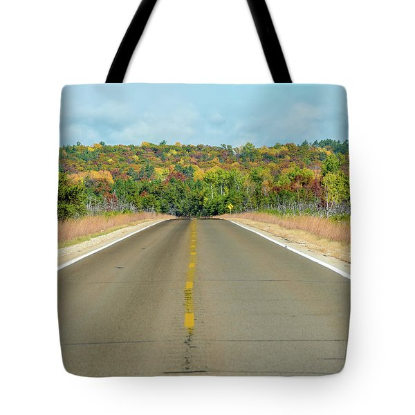 Color At Roads End Tote Bag