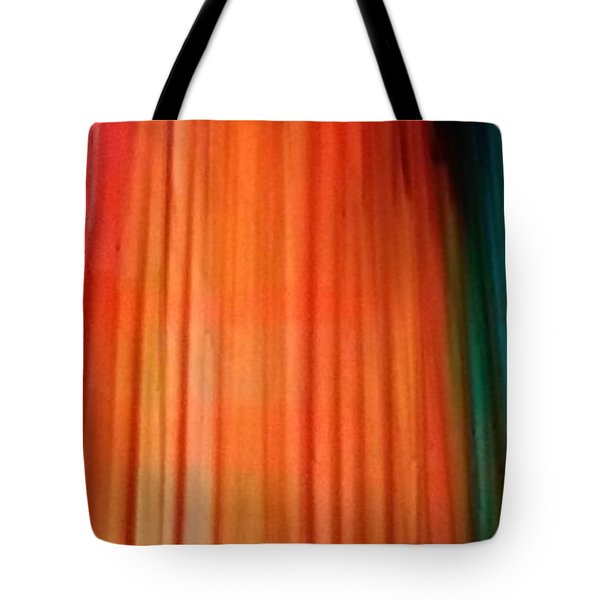 Color Bands Tote Bag