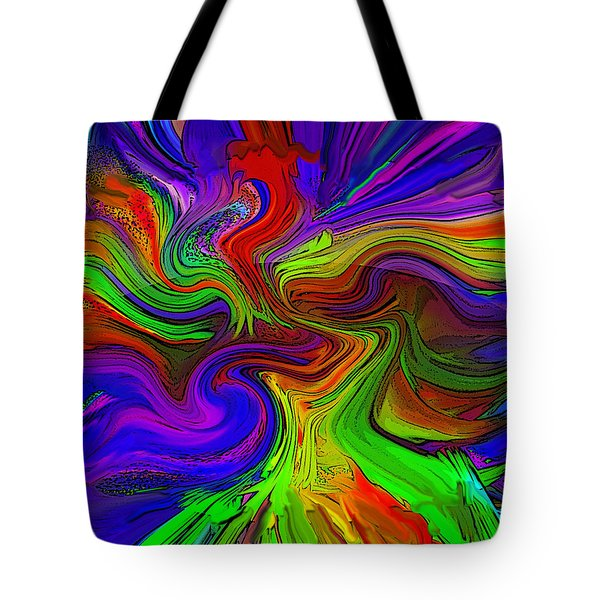 Color Blend R4 Tote Bag