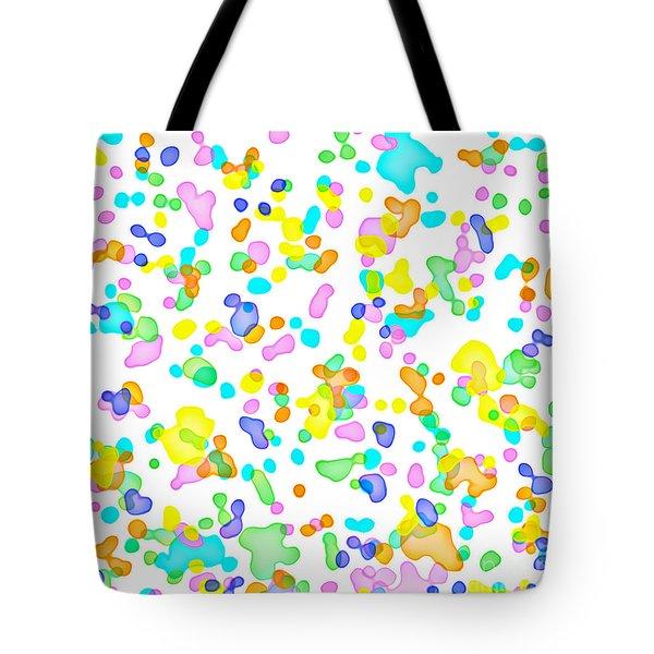 Color Blots Tote Bag
