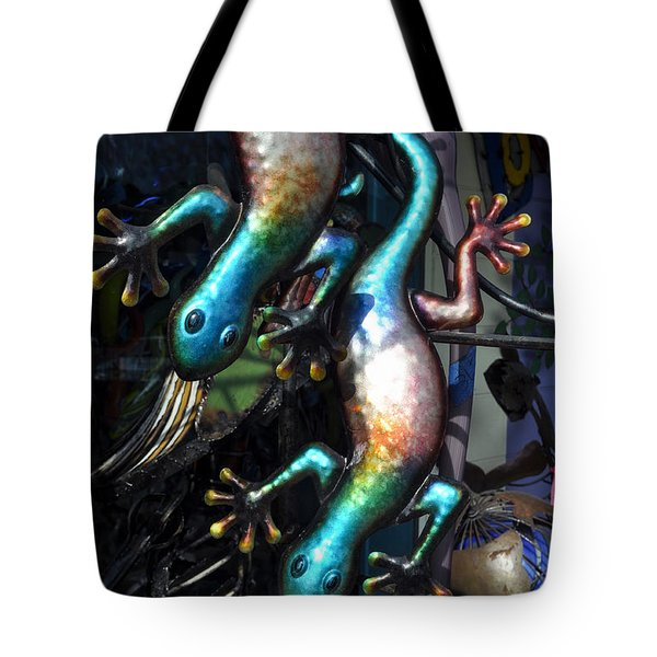 Tote Bag featuring the photograph Color Caudata by Allen Carroll