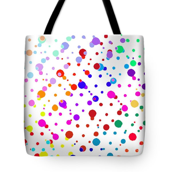 Color Cells Tote Bag
