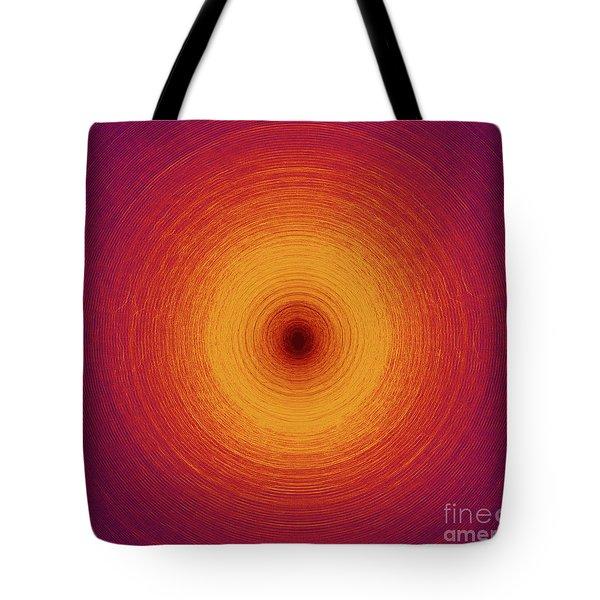 Color Circles Tote Bag