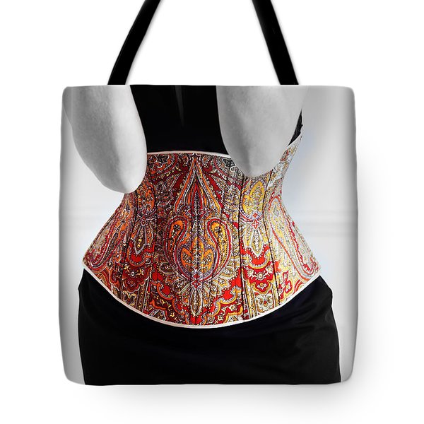 Tote Bag featuring the photograph Color Corset by Andrey  Godyaykin