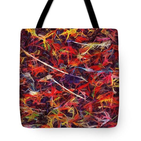 Color Crayons Tote Bag