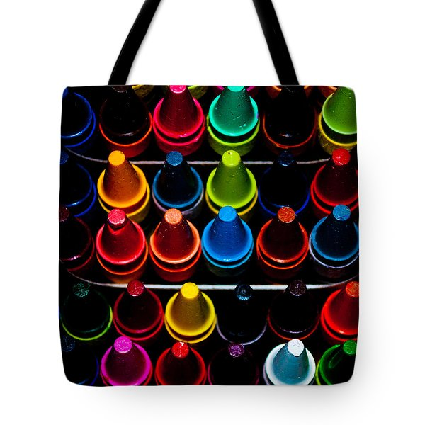 Color Creation Tote Bag by Colleen Coccia