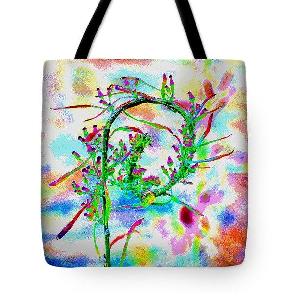 Color Curl Tote Bag