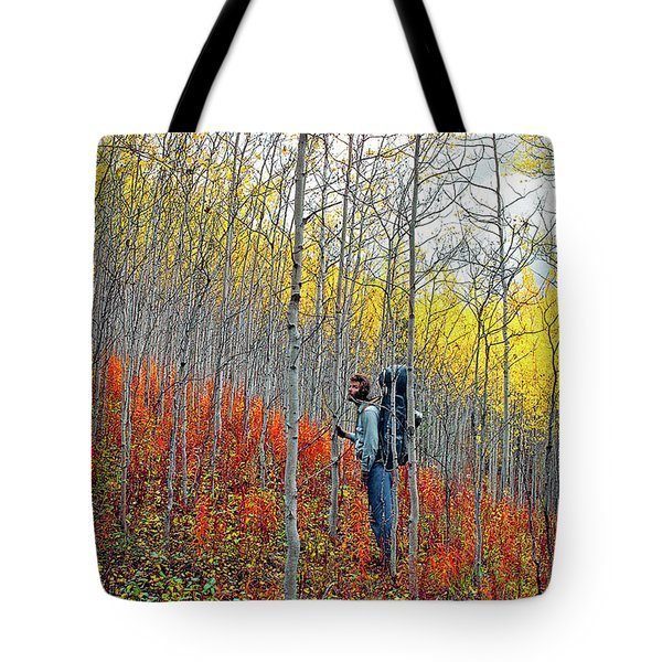 Color Fall Tote Bag