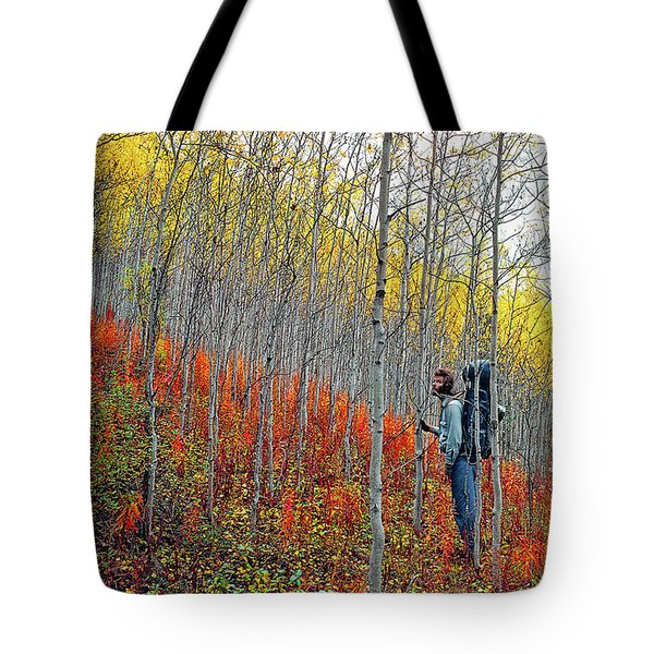 Color Fall Tote Bag